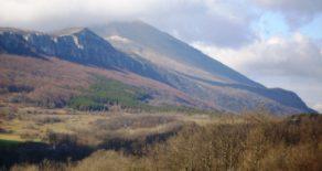 Дом с большим участком у подножия горы Ртань
